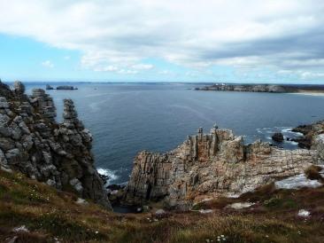 Pointe de Pen-Hir in Bretagna