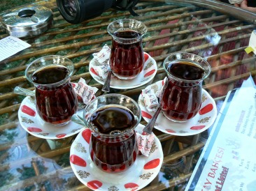 Sessione rigenerante di çay a Konya
