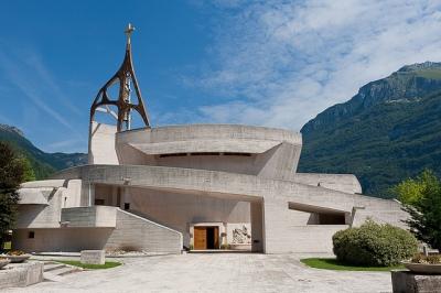 La chiesa parrocchiale di Longarone