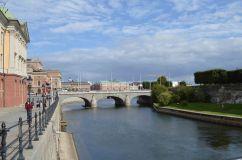 Stoccolma è nota anche per i suoi innumerevoli ponti...
