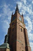 L'altissimo campanile e la guglia della cattedrale