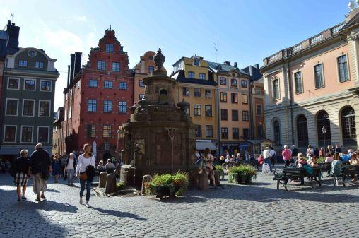 Lo Stortorget a Stoccolma, la piazza principale del nucleo storico