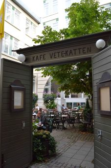 Il café storico Vete Katten a Norrmalm