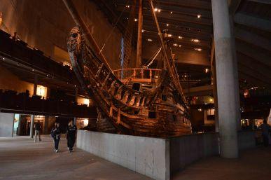 Il Vasa museet a Djurgarden
