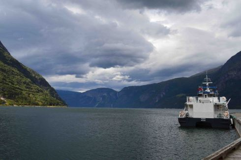 """La """"testa"""" dell'Hardangerfjord"""
