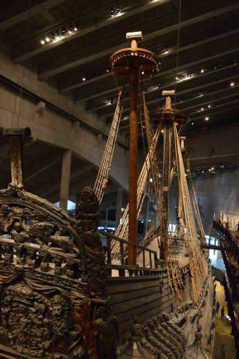 Il 90% della nave è stata ricostruita con i pezzi originali rinvenuti nel Golfo di Stoccolma