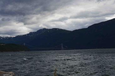Il ponte sull'Hardangerfjord