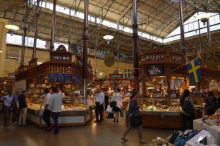 L'interno di questo mercato coperto super chic!