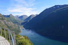 Il Geirangerfjord da Ornesvingen