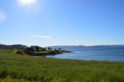 Il Trondheimsfjord nei pressi di Flakk