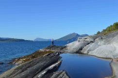 lungo la Helgelandkysten