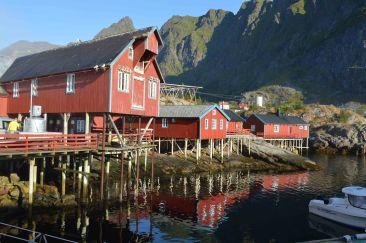 Tipiche Hytte nelle isole Lofoten