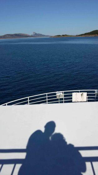 Attraversando il Circolo Polare Artico