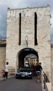 La porta di accesso al borgo