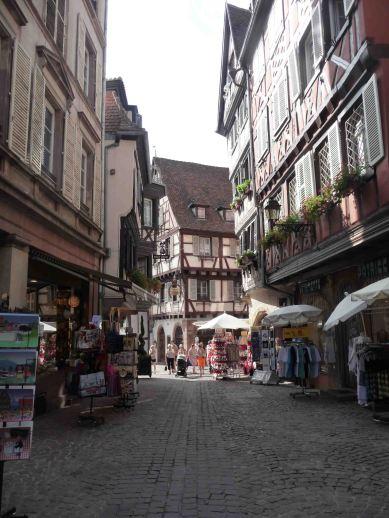Il caratteristico centro di Colmar