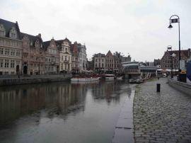 I canali nel centro di Gent