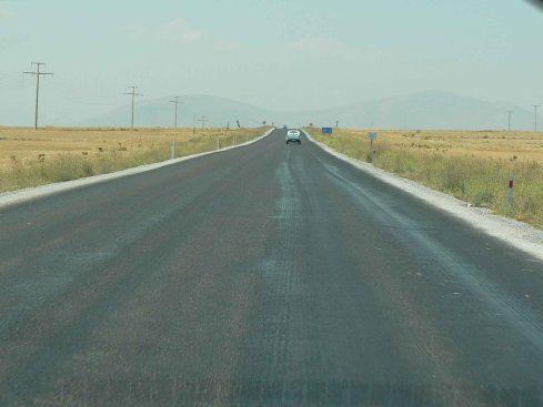 Strada in Anatolia
