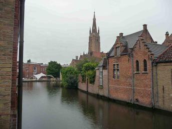 I romantici canali a Bruges