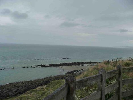 Scrutando verso la costa inglese nel Nord-Pas-de-Calais