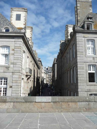 Atmosfera parigina a Saint-Malo
