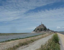 Mont-Saint-Michel... come veri pellegrini