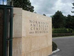 Il cimitero americano ad Omaha Beach