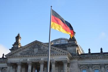 La cupola vetrata del Reichstag, simbolo della Germania unita