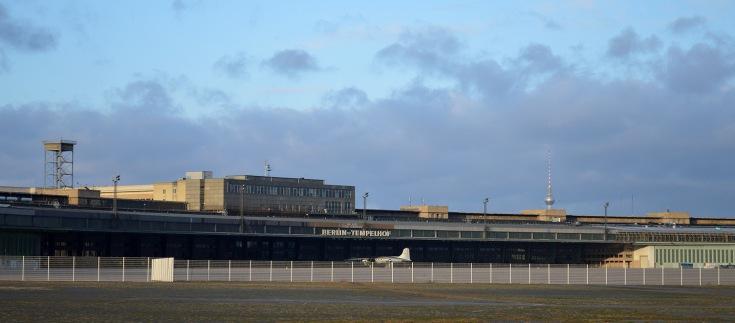 Il terminal del Tempelhofer Flughafen
