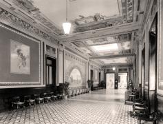 Uno dei saloni dell'edificio delle Terme