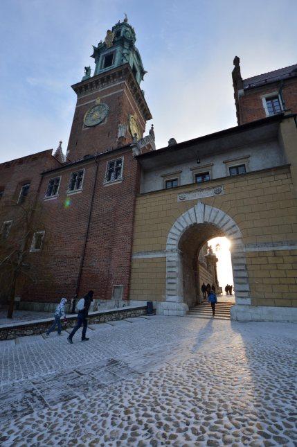 Una delle porte di accesso al Wawel