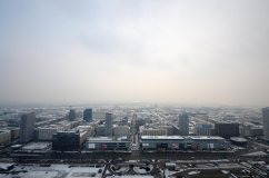 Vista panoramica di Varsavia