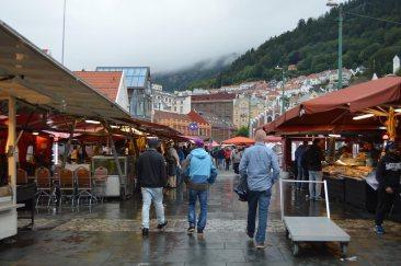 Il mercato del pesce di Bergen