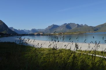 La spiaggia di Ramberg