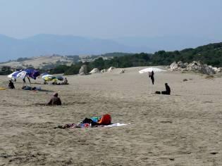 Donne turche sulla spiaggia di Patara