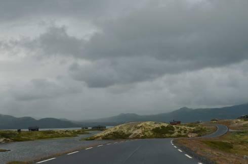 La strada turistica sull'Hardangervidda