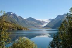 il ghiacciaio Svartisen