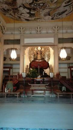 L'interno di un tempio