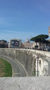 La vista verso San Pietro