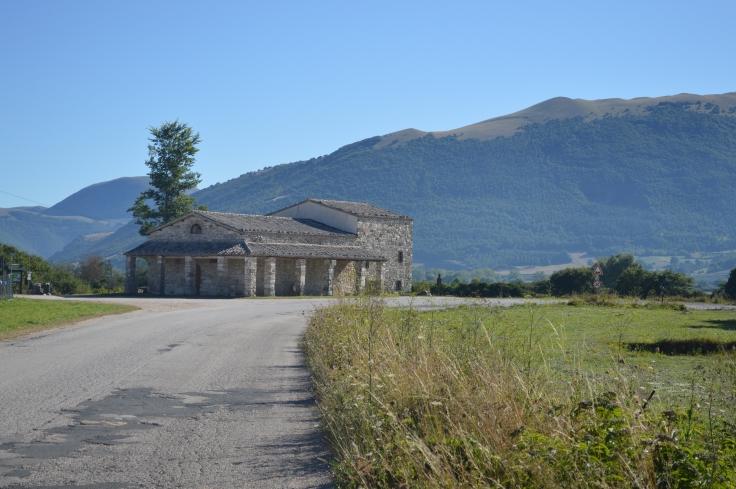La basilica di Plestia