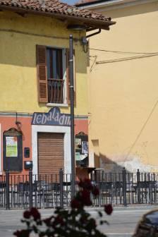 La birreria originaria sulla piazza principale di Piozzo
