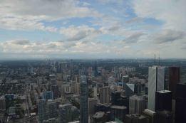 Downtown dall'alto della CN Tower, Toronto