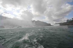 A livello dell'acqua, Niagara falls