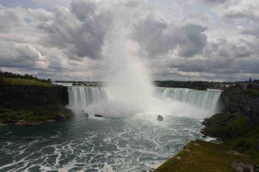 Sfidando le Niagara falls